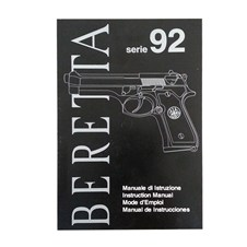 Beretta 92FS Owner Manual (IT - ENG - FR - ES)