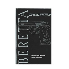 Beretta PX4 Storm Owner Manual (ENG, FR)