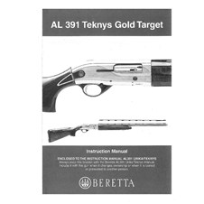Beretta AL391 Teknys Gold Target Owner Manual (Spanish)