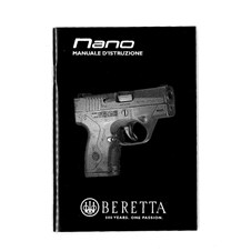 Beretta BU NANO Owner Manual (Italian)