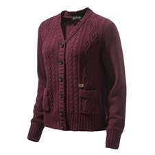Beretta Cardigan da Donna Heather Cable