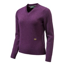 Pheasant V Neck Sweater Woman (Size L)