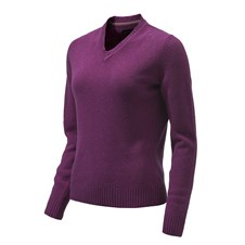 Pheasant V Neck Sweater Woman