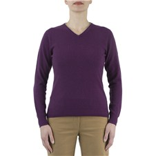 Woman's Country V Neck Sweater (Sizes L, XL)
