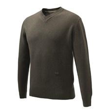 Beretta maglione classico da uomo con scollo a V