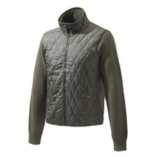 Beretta Long Zip Quilted Sweater