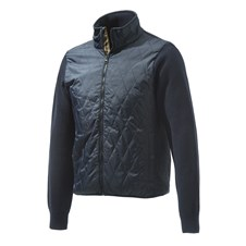 Beretta Long Zip Quilted Sweater