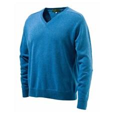 Beretta Dense Knitted Cariaggi Cashmere V-Neck Sweater