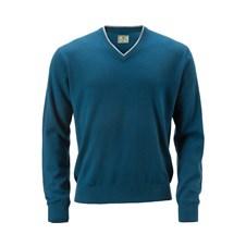 Beretta Man's Country V Neck Sweater