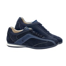 Beretta Uniform Suede Navy Shoes