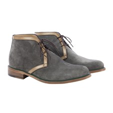 Beretta Suede Man Shoes with Piping