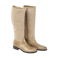Beretta Woman Perforated Suede Boots