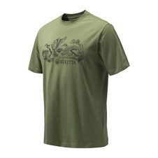Beretta Engravers Ducks T-Shirt