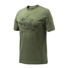 """Beretta T-shirt """"Engravers Moose"""""""