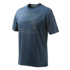 Beretta T-Shirt Anniversary Pistol