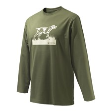 Beretta Pointer Sketch T-Shirt LS