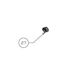 Beretta (27) Molla Sgancio Caricatore BU9 Nano