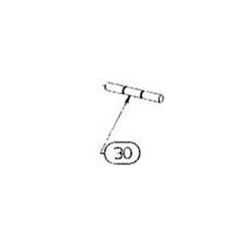 Beretta (30) Spina Fissaggio Guardamano AL391