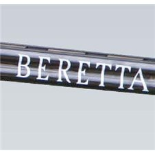 "Sticker for over & under barrels with ""Beretta"" Logo color white"