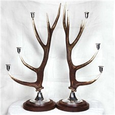 Beretta Deer Table Candlestick