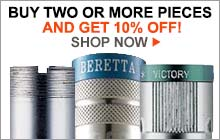 discount per quantity, choke tube, buy two and get 10% OFF