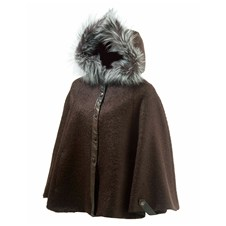 Beretta Woman's Cape with Fur