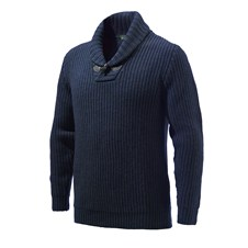 Beretta Shawl Collar Sweater