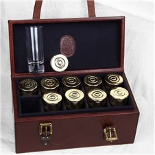 Beretta Cartridge Snaps Shot Glasses Set