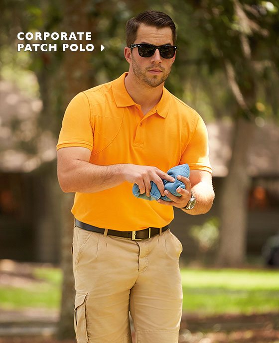 Corporate Patch Polo